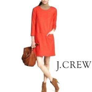 J.Crew Jules Wool Shift Dress size 4